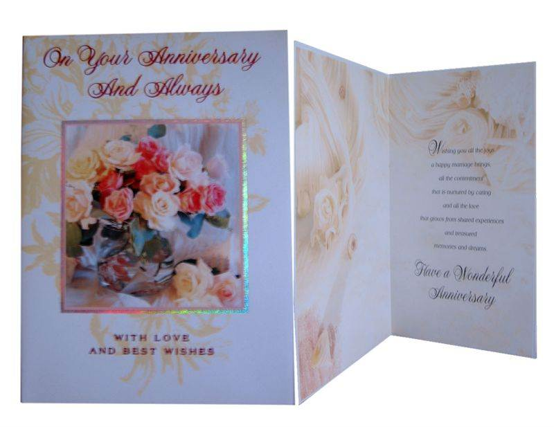 Anniversary Card (MICDRN046)