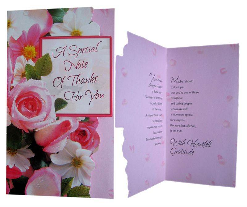 Thank you Card (MICDRN048)