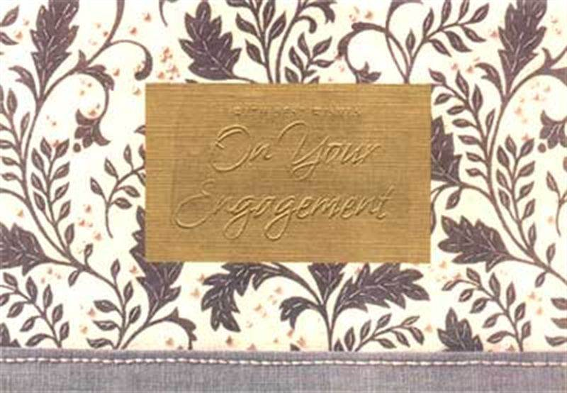 Engagement Card (MICDRN052)