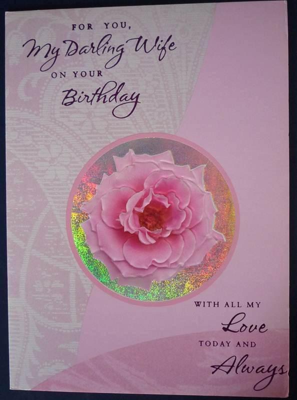 Birthday Card for Wife (rob0005) (GCNPJ012)