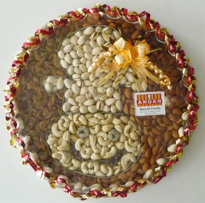 Angan Special Dry Fruits from Angan (1222 gm) (ANPKR013)
