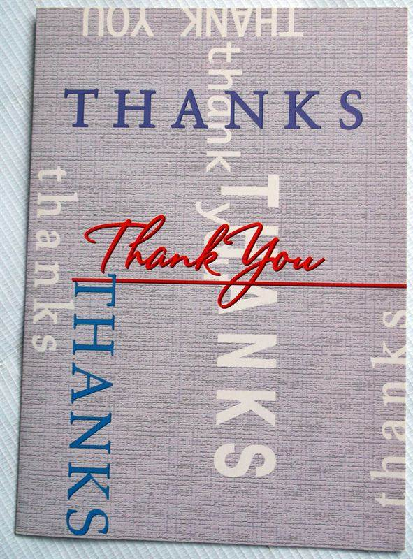 Thank You Card (MGCNPJ79) (GCNPJ097)