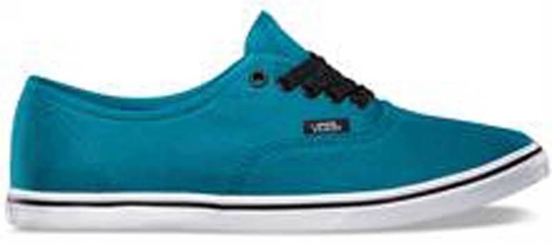 56180d0cca81 Vans Authentic Lo Pro Ocean Depths True White Shoe (901196) - Send ...