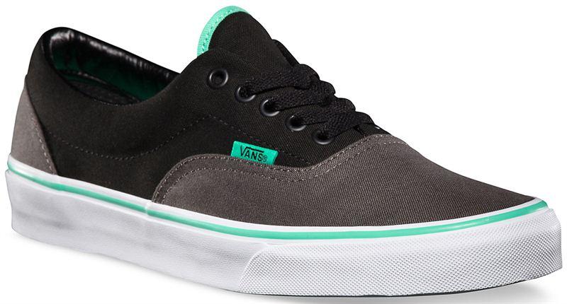 ff3ace86d1ea Vans Era (2 Tone) Charcoal Black Biscay Green Shoe (901207) - Send ...