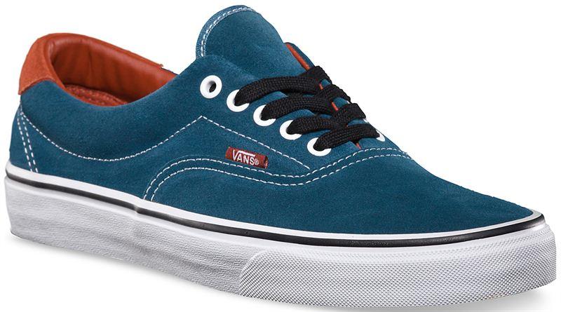 Vans Era 59 Earthtone Suede Indian Teal Shoe (901235) - Send Gifts ... ad20128ff