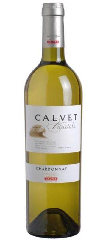 Calvet Varietals Chardonnay White Wine (750ml)  (CHT061)