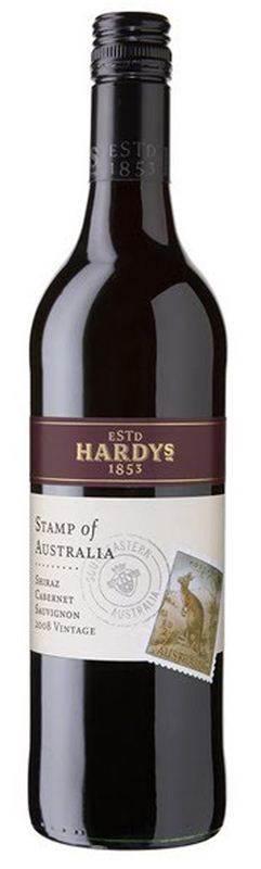 Hardys Stamp Shiraz Cabernet Sauvignon (750ml) (CHT062)