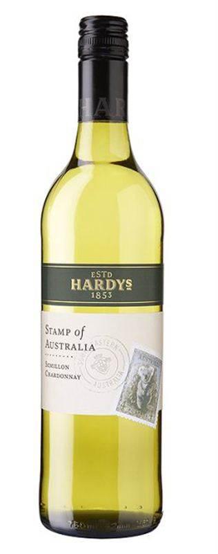 Hardys Stamp Chardonnay Semillon (750ml) (CHT063)
