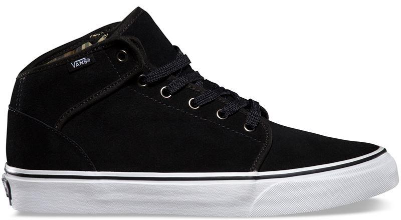 97a88455fba2 Vans 106 Mid (Native Camo) Black Suede Shoe (901260) - Send Gifts ...
