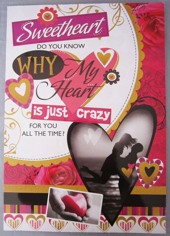 My Heart Is Just Crazy Card (CRD15)