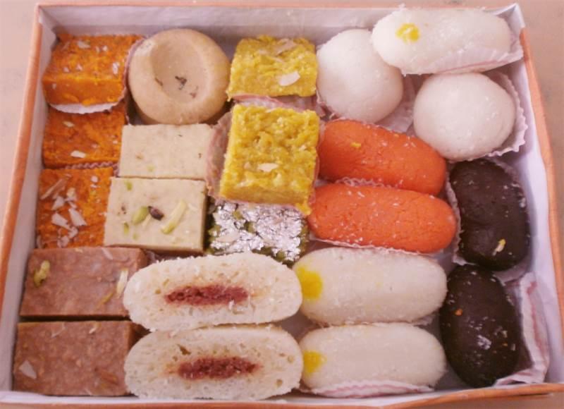 Mix Sweets (1 Kg) from Pawan Misthan Bhandar (BTLSW01)