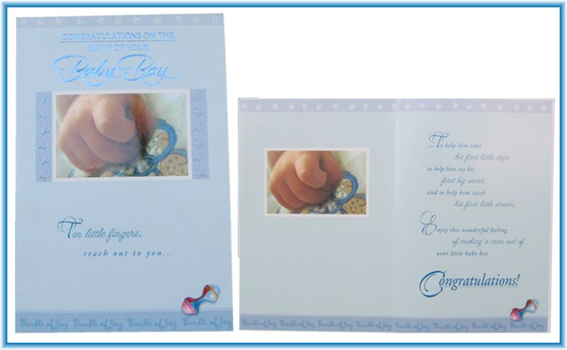 Card for New Baby Boy (rd200024)