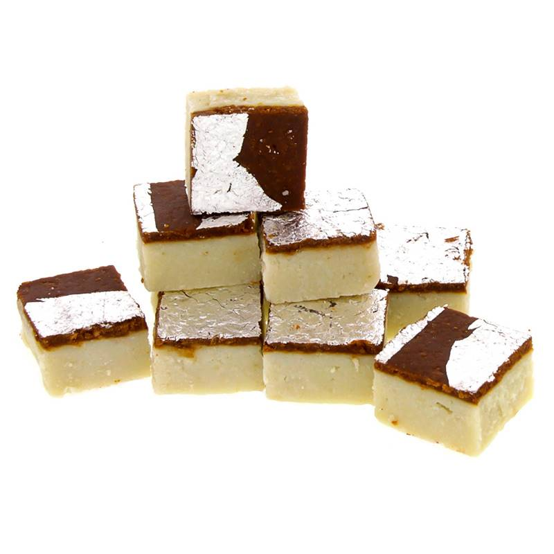 Chocolate Barfi (1 Kg) from Pawan Misthan Bhandar (BTLSW008)