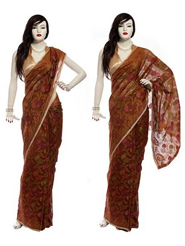 Hand Weaved Cotton Saree (14) (MIS0092)