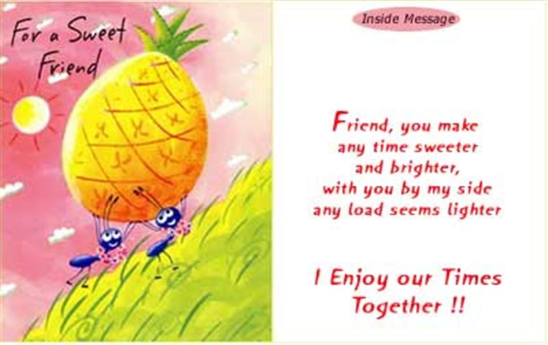 Friend Card (rf000001)