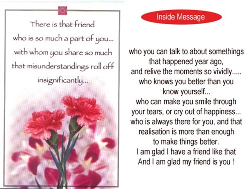 Friend Card (rf000010)