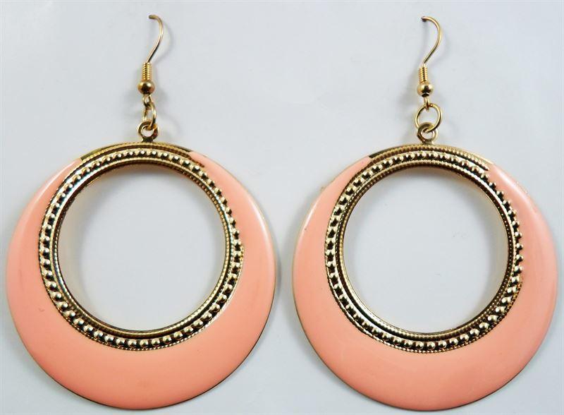 Korean Stylish Round Drop Dangle Earring (15)
