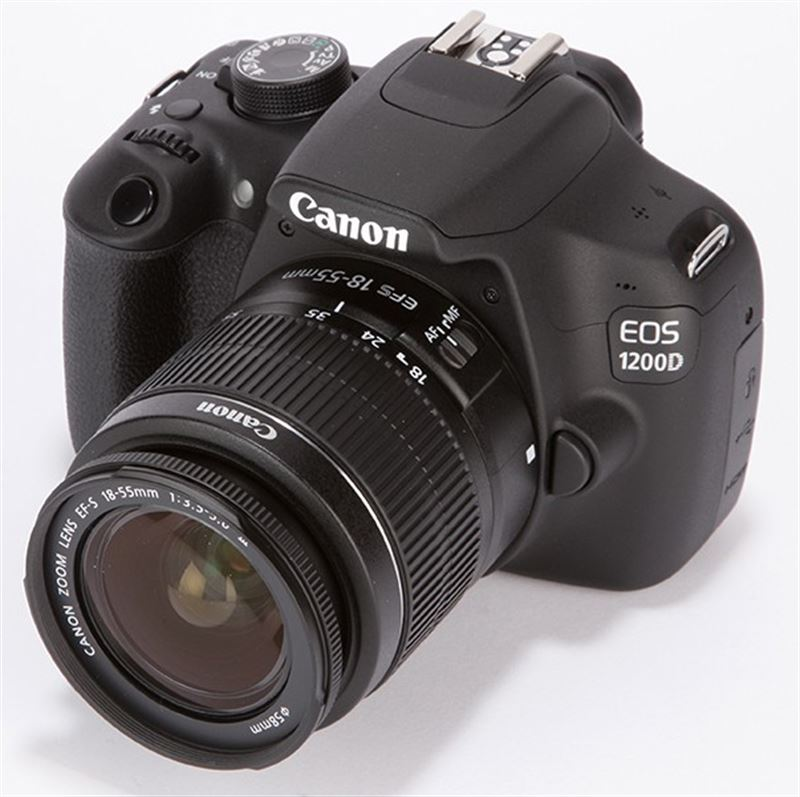 Canon DSLR Camera EOS 1200D (With Kit Lens 18-55mm IS