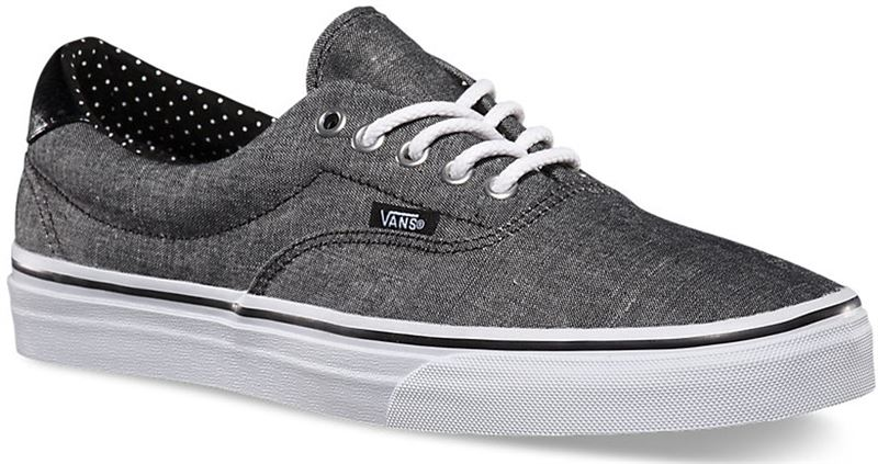 Vans Era 59 Chambray Black Polka Shoe (901301) - Send Gifts and ... c7de3a01b3