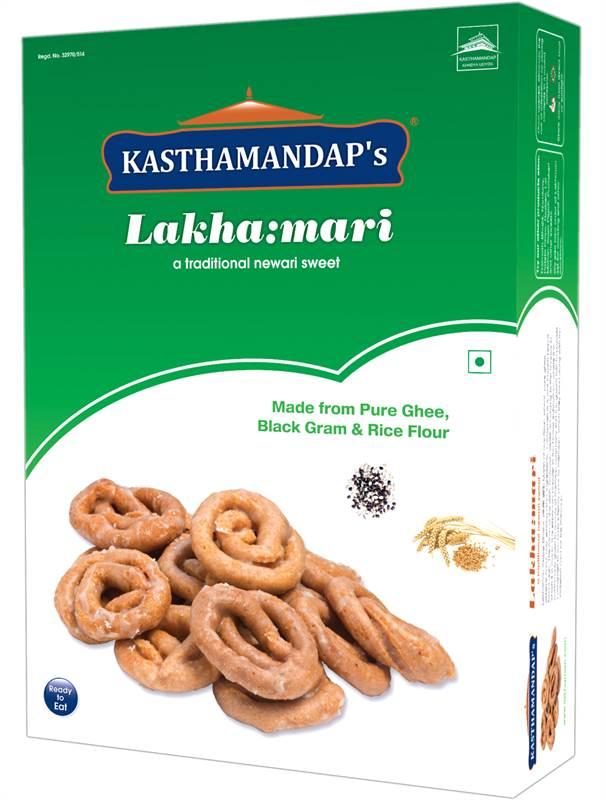 Kasthmandaps Lakhamari  (Box Aathi 500g)