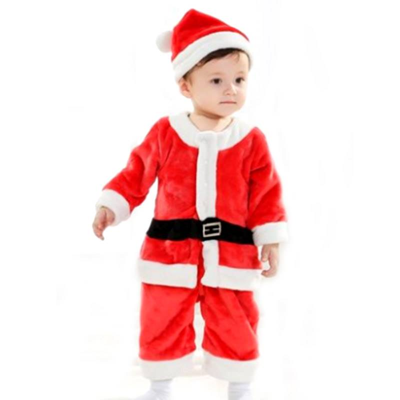 Santa Claus Costume for Boys (0-3 Years)
