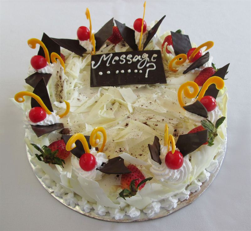 White Forest Cake (1 Kg) from Soaltee Crowne Plaza