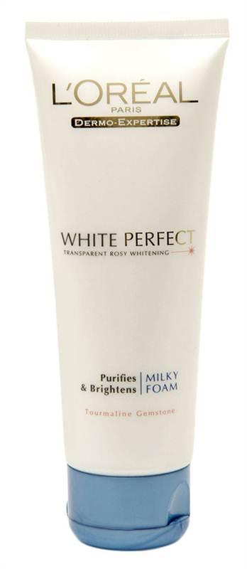 LOreal Paris White Perfect Milky Foam Face Wash
