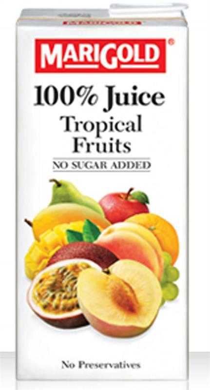 Marigold 100 Tropical Fruits Juice (1L)