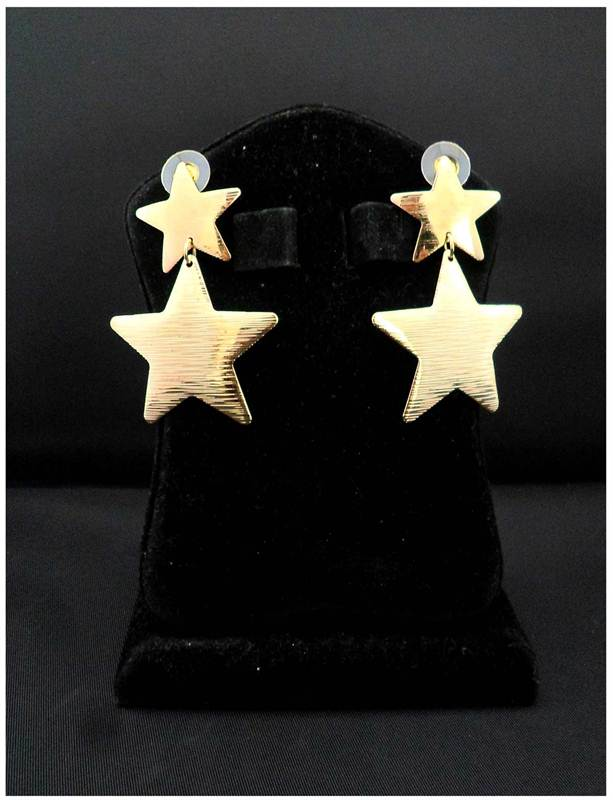 Korean Golden Star Earring (ERG9)