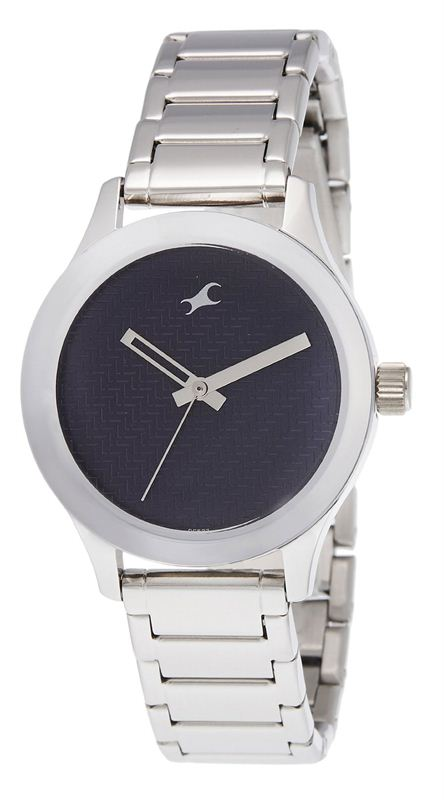 Fastrack Monochrome Analog Blue Dial Women's Watch (6078SM04)