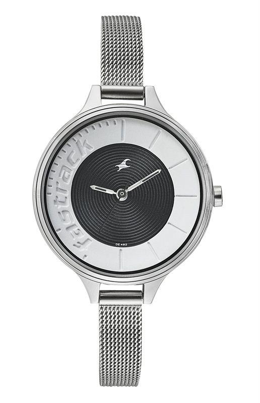 Fastrack Analog Black Dial Women's Watch (6122SM02)