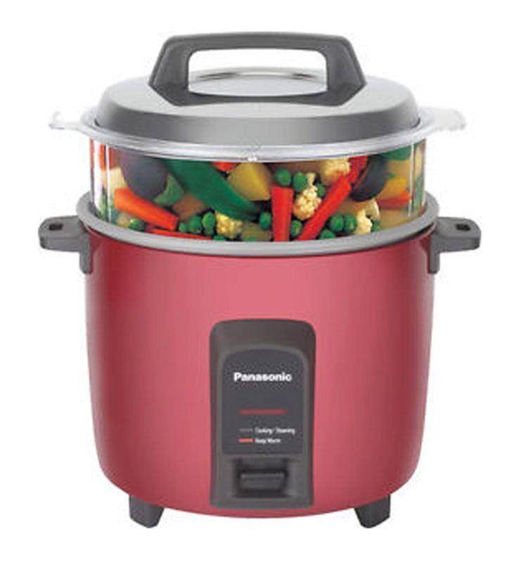 Panasonic 1.8 Ltrs. Rice Cooker (SR-Y 18FHS(E) Burgundy Red)