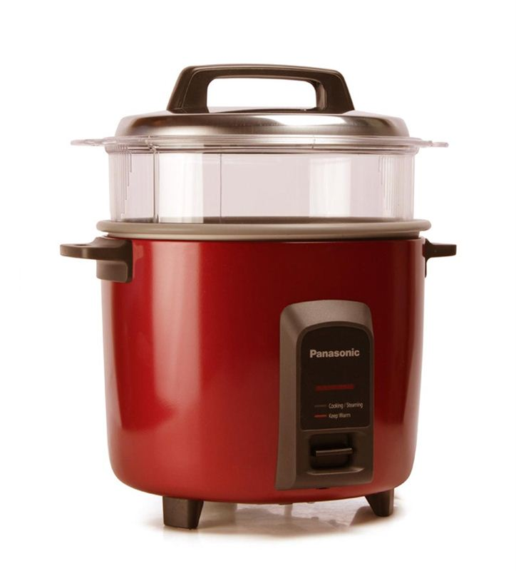 Panasonic 2.2 Ltrs. Rice Cooker (SR-Y 22FHS Red)