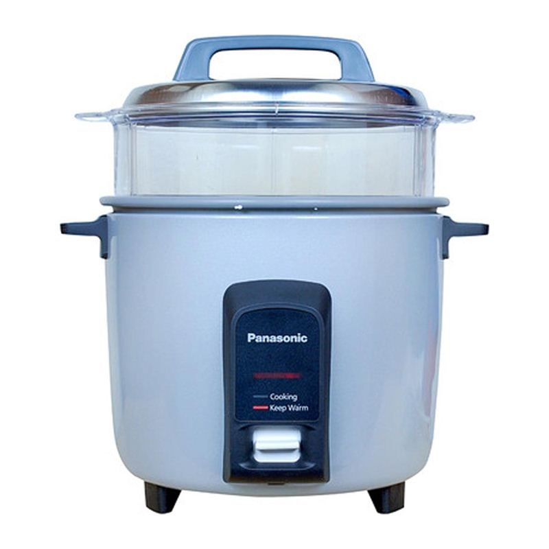 Panasonic 2.2 Ltrs. Rice Cooker (SR-Y 22FHS Silver)