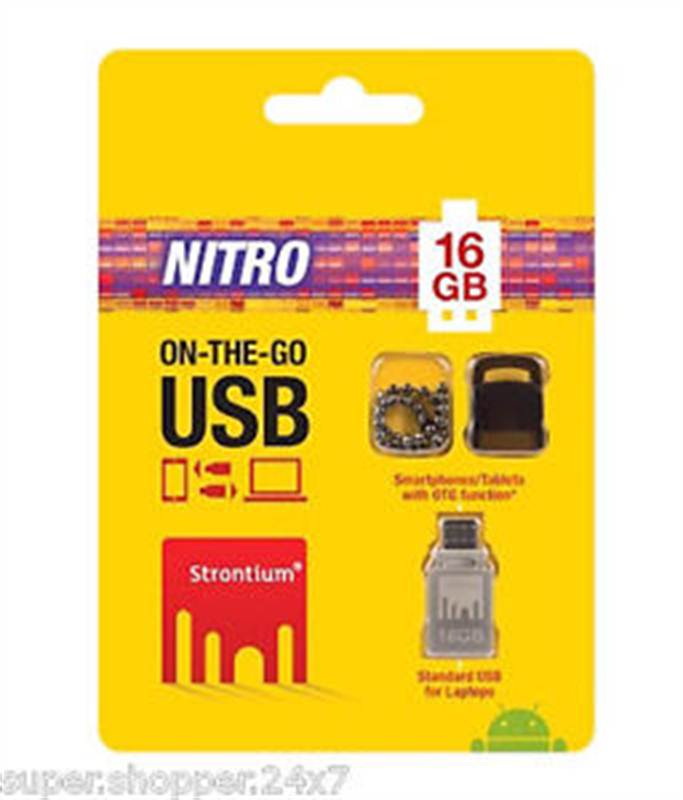 Strontium 16 Gb OTG Pendrive (CHTBSB001)