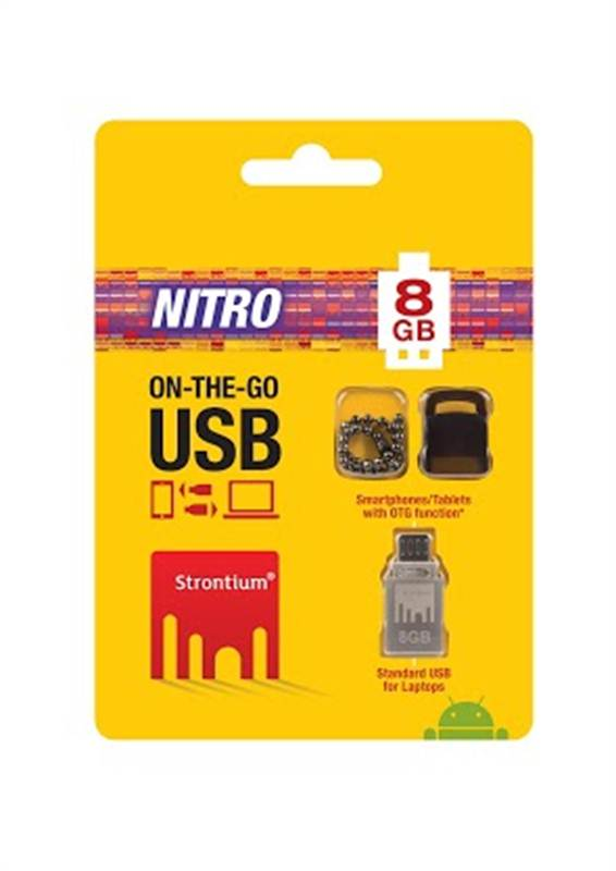 Strontium 8gb OTG Pendrive (CHTBSB002)