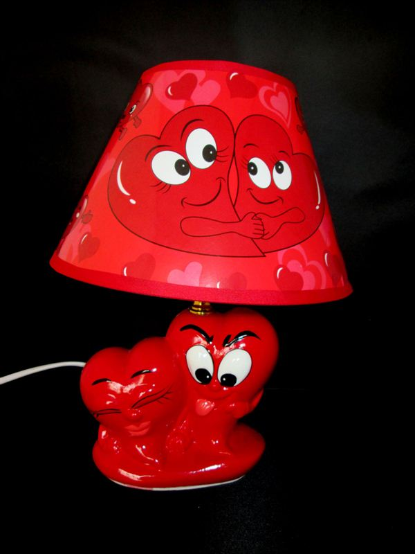 Love Table Lamp B (20422)(18x6 inch)