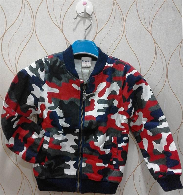 Yikaer Kids Cool Combat Jacket Send Gifts And Money To Nepal