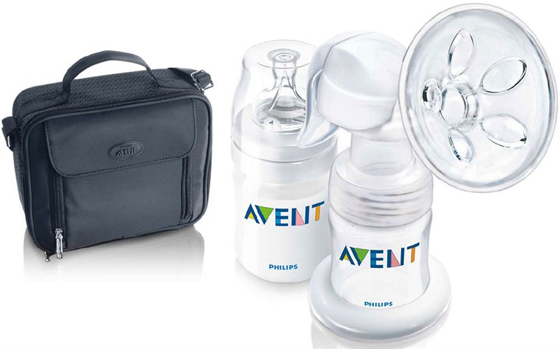 Philips Avent PP Manual Breast Pump Out and About Set (SCF310/13)
