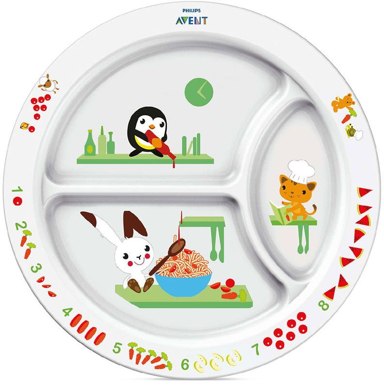 Philips Avent Toddler Divider Plate (SCF702/00)