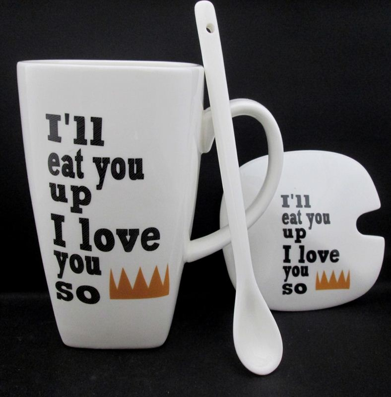 Eat U Up Cup (111)  (5.5 in x 7.5 in)