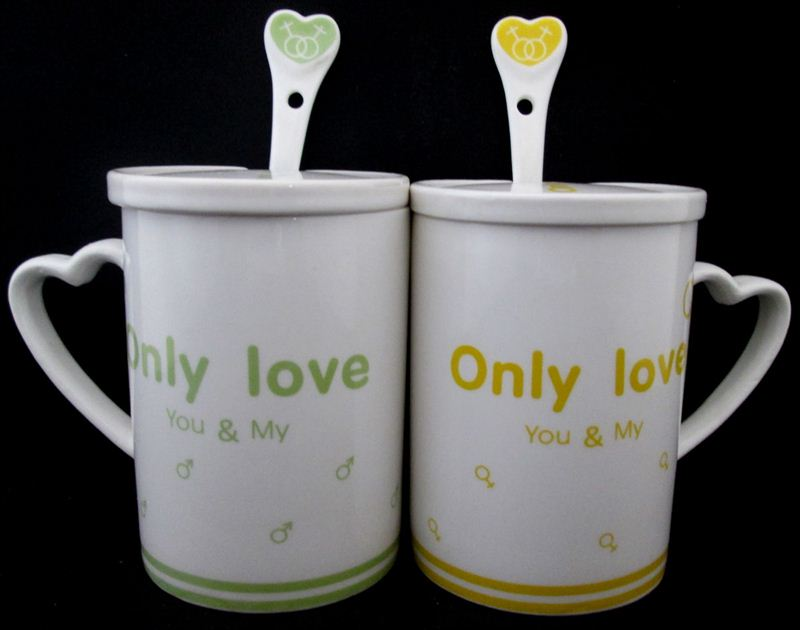 Only Love Couple Cup (97A) (9 in x 6 in)