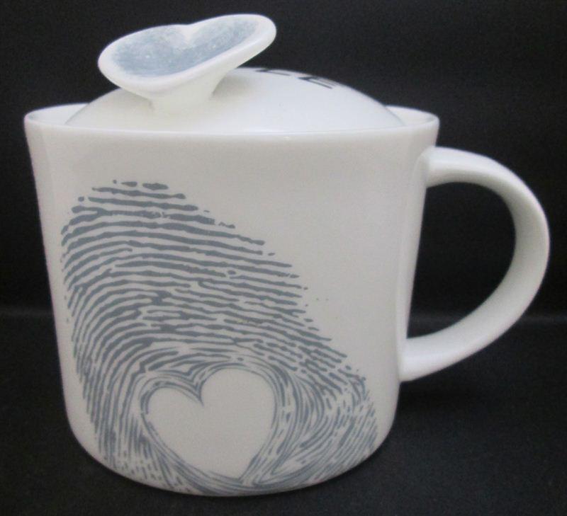 Love Is Simple - Fingerprint Cup (113A) (5.5 in x 4.5 in)