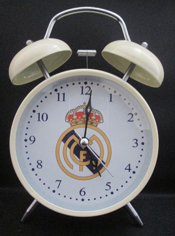 Real Madrid Table Clock (63E) (4.5x7 Inc)