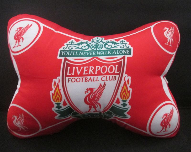 Liverpool FC Car Pillow (10incx6.5inc) (92B)