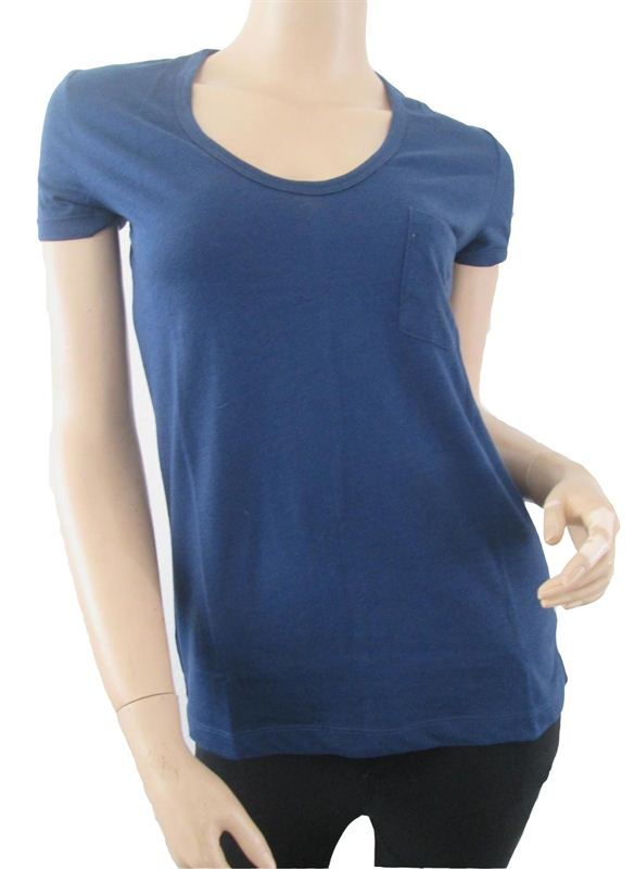 Plain Dark Blue T-shirt (088)