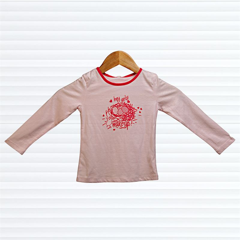 Hey Girls Printed (058-Pink) (2-3 Years)