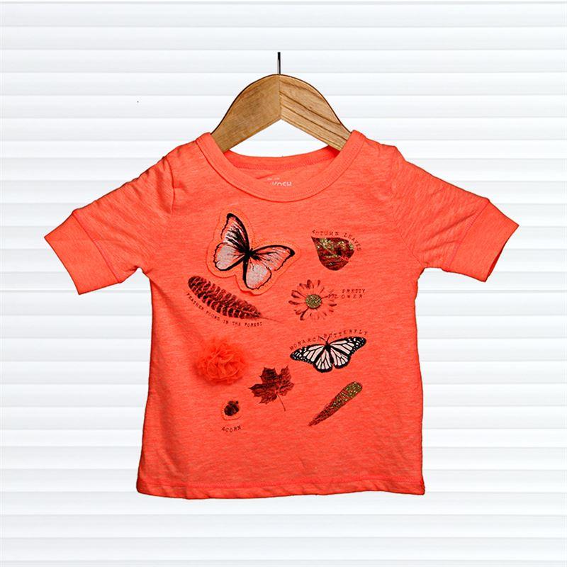 OSHKOSH (Butterfly printed) Orange (047-Orange) (4 Years)
