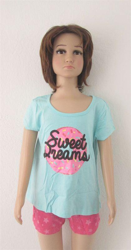 Emerson Junior Girls Sleepwear (019-Green) (14 Months)