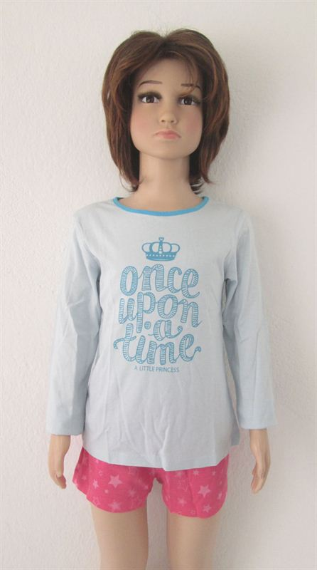 Once Upon A Time Printed (059-Blue) (5-6 Years)